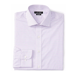 Lauren Ralph Lauren - Slim-Fit Checked Dress Shirt