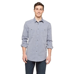 Mossimo Supply Co. - Men's Chambray Print Shirt