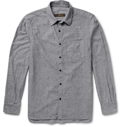 Freemans Sporting Club - Cotton-Chambray Shirt