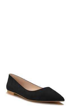 Shoes Of Prey - Pointy Toe Flat Shoes