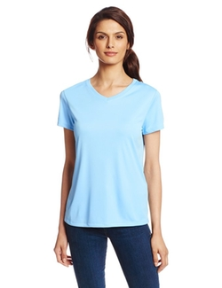 Hanes - Short Sleeve Cool DRI Performance V-Neck Tee