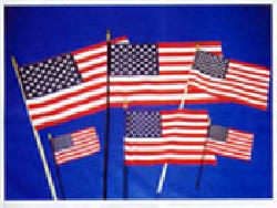 "NorthStar Flags - American Miniature Flags: 4"" x 6"" Economy"