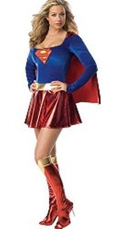 Spook Shop - Superman - Sexy Supergirl Costume