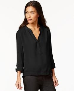 Calvin Klein Jeans  - Tab-Sleeve Blouse
