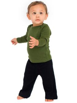 American Apparel  - Infant Baby Rib Karate Pants