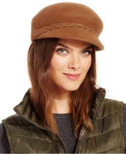 Nine West - Felt Newsboy Hat