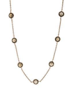 Ippolita - Rose Smoky Quartz Station Necklace