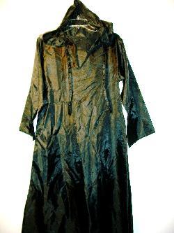 bonanza - HALLOWEEN COSTUME CARNIVAL MASQUERADE BLACK HOOD CLOAK SMALL
