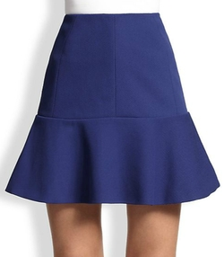 Nina Ricci - Flared Cotton Gabardine Skirt