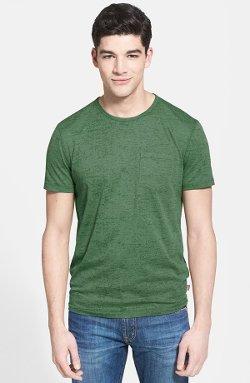 John Varvatos Star Usa  - Burnout Crewneck T-shirt