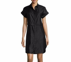 Rag & Bone - Ara Short-Sleeve Poplin Shirtdress