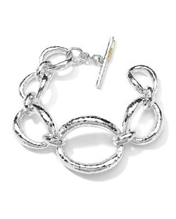 Ippolita   - Hammered-Link Bracelet