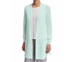 Eileen Fisher  - Long Organic Linen Cardigan