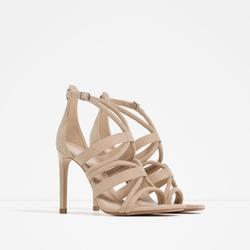 Zara - Wrap Around High Heel Sandals