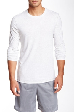 Alo  - Long Sleeve Athletic Crew Tee Shirt