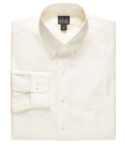 JoS. A. Bank - Solid Long-Sleeve Buttondown Dress Shirt