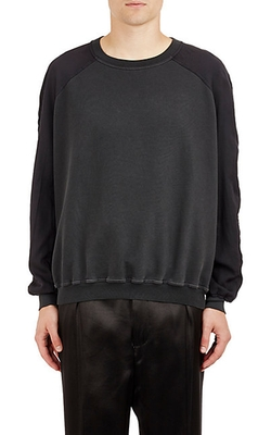 Haider Ackermann  - Tech Twill & French Terry Sweatshirt