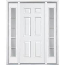 Masonite - Premium 6-Panel Primed Steel Entry Door