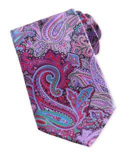 Ermenegildo Zegna - Quindici Paisley-Print Silk Tie, Brown