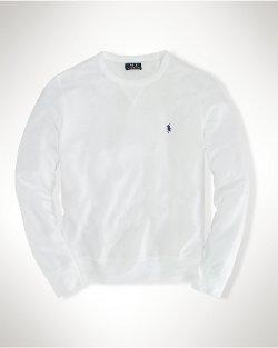 Ralph Lauren - Atlantic Terry Crew Sweatshirt
