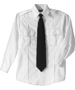 Edwards Unisex  - Long Sleeve Poly/Cotton Security Shirt