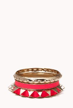 Forever21 - Spiked Bangle Set