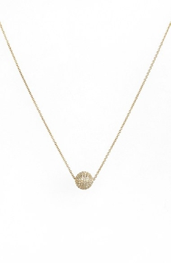 Bony Levy - Diamond Pavé Ball Pendant Necklace