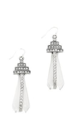 Lulu Frost - Crystalline Earrings