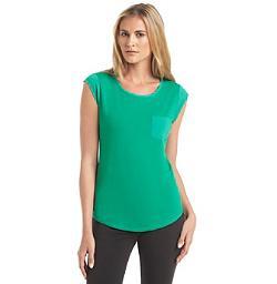 Calvin Klein  - Cap Sleeve T Shirt