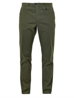 Oliver Spencer  - Fishtail Cotton Trousers