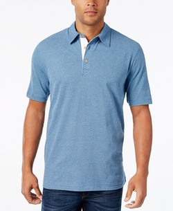 Weatherproof Vintage - Space-Dye Short-Sleeve Polo Shirt
