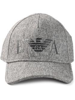 Emporio Armani  - Logo Print Baseball Cap