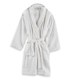 Wamsutta - Unisex Terry Robe In White
