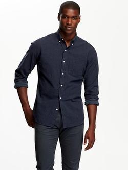 Old Navy - Slim-Fit Printed Shirt
