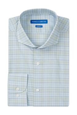 Vince Camuto - Plaid Modern Fit Dress Shirt