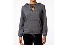 Betsey Johnson - Lace-Up Hoodie