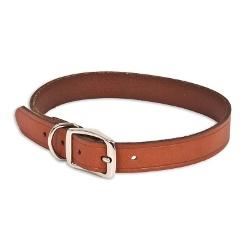 Ruffmax - Adjustable Leather Dog Collar