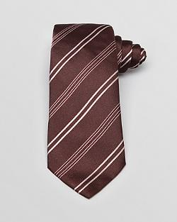 Armani Collezioni - Alternating Stripe Classic Tie