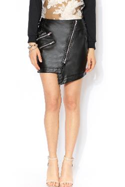 Wilde Heart - Stone Cold Leatherette Skirt