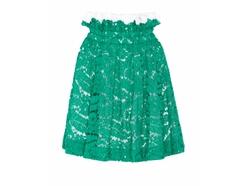 No. 21  - Glory Top Ruffle Lace Skirt