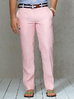 Polo Ralph Lauren - Slim-Fit Linen Dress Trouser