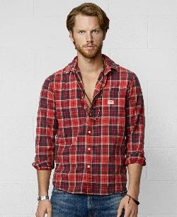 Ralph Lauren  - Plaid Oxford Sport Shirt