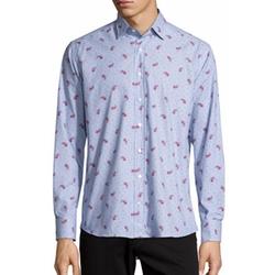 Etro - Paisley & Dot-Print Sport Shirt
