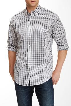 Brooks -  Checked Broadcloth Shirt