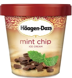Häagen-Dazs - Mint Chip Ice Cream