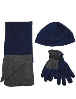 Winter Warm-Up - Boys Hat Scarf and Glove Set