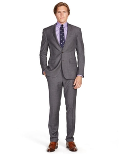 Ralph Lauren - Wool Sharkskin Suit
