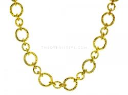 """Elizabeth Locke  - """"Riviera"""" Link Necklace"""