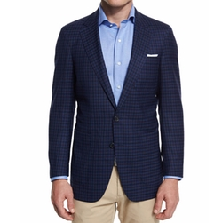 Peter Millar  - Check Soft Wool Sport Coat