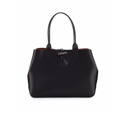 Longchamp  - Roseau Reversible Leather Tote Bag